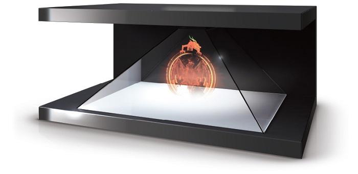 pantallas holograficas