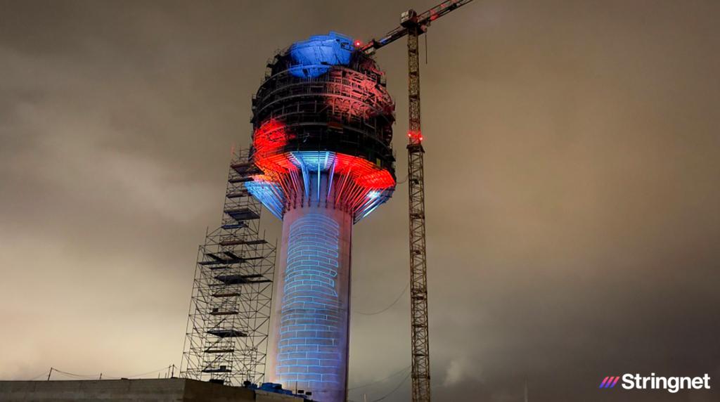 Video mapping: Inauguración de la Nueva Torre de Control del Jorge Chávez