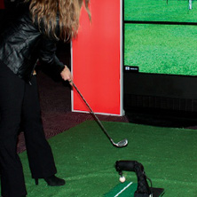 JUEGO GOLF VIRTUAL INTERACTIVO