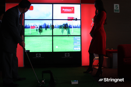 GOLF VIRTUAL INTERACTIVO